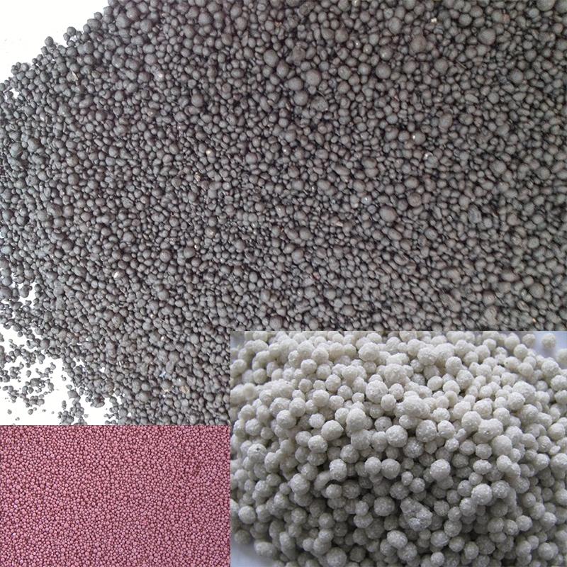 盘式造粒机生产的化肥样品
